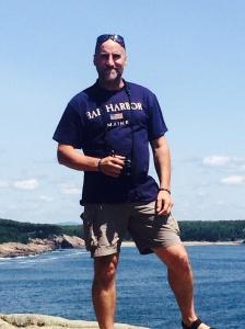 Me at Otter Cliffs