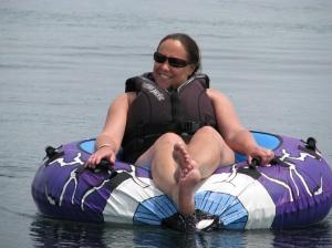 Jill tubing