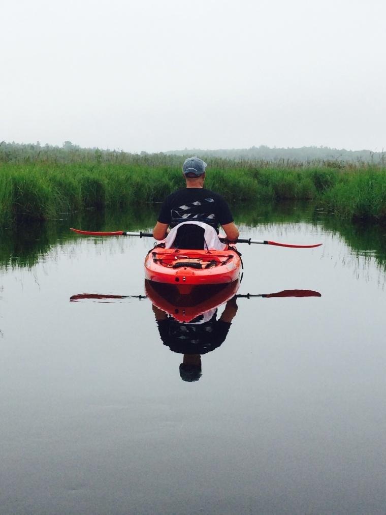 Rowing solo