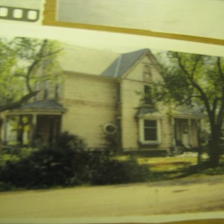 Aunt Meg's house before filming.