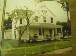 Aunt Meg's house after they renovated for the film.